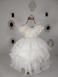 Vestido Nellu Nude 2264