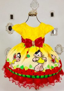 Vestido Infantil Magali de luxo