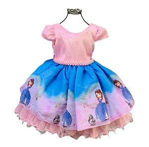 Vestido infantil Princesa Sofia 325