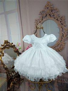 Vestido Branco batismo 1786