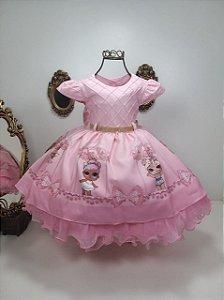 Vestido  Rosa LOL 1867