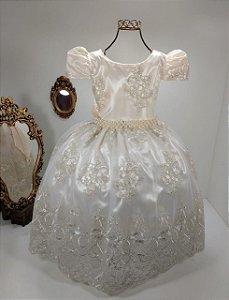 Vestido Off white  2186