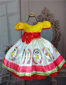 Vestido infantil magali 325