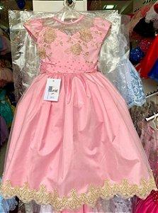 Vestido formatura rosa 2082