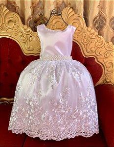 Vestido Realeza Branco 2204