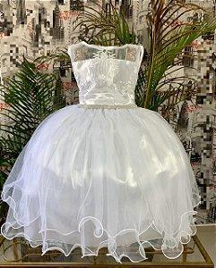 Vestido Branco de luxo 371