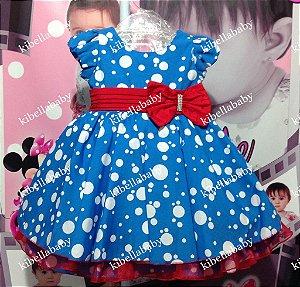 Vestido Infantil Doçura Galinha Pintadinha