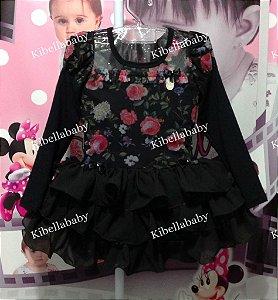 Vestido Infantil/Juvenil Mini Miss  Tam 4 ao 12
