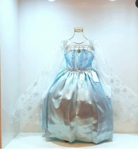 Vestido infantil Frozen Elsa
