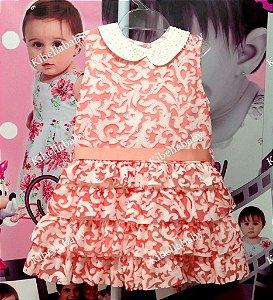 Vestido Infantil Kokabu - Tam 1 ao 3