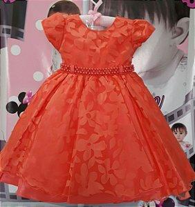 Vestido Infantil Primavera - tam 1 ao 3