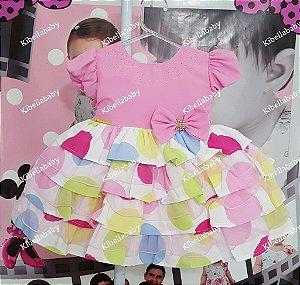 Vestido Infantil Peppa Pig Baby Tam P ao G