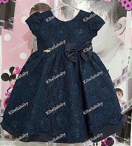 Vestido Infantil Luna - tam 1 ao 3