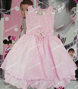 Vestido Infantil/Juvenil de Festa Princesas Disney - tam 4 e 6