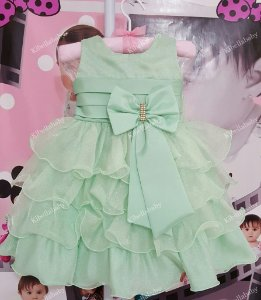 Vestido Infantil de Festa Sininho - tam 1 ao 3