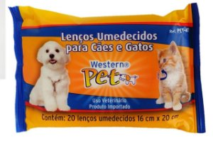 Toalha Umedecidas para Cães e Gatos