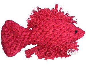 Peixe Pet de Corda para Cães e Gatos