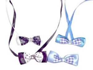 Gravatinha Pet Borboleta