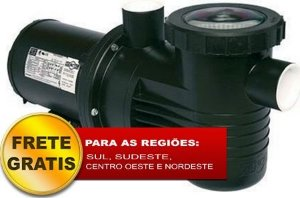 Bomba para piscina Dancor Pratika PF-17 1.0CV trifásica 220/380V