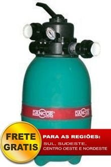 Filtro de piscina Dancor DFR-12 sem bomba