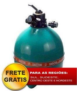Filtro de piscina Dancor DFR-24 sem bomba