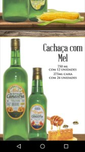 Cachaça da Serra da Canastra com Sabor - 700 ML
