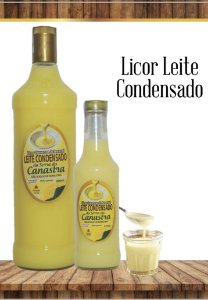 Licor Cremoso Artesanal Canastra 900 ML - Leite Condensado