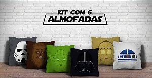 Kit 6 Almofadas  30% de desconto