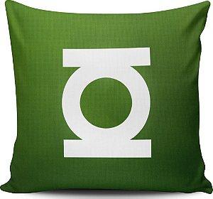 Almofada 40x40cm Lanterna Verde