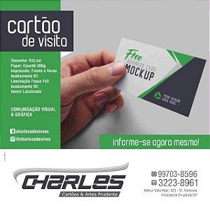 Cartão de Visita 5cmx 9cm