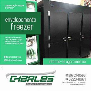 Envelopamento de freezer