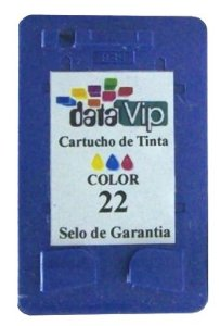 Cartucho Para Impressora Hp 22 (c9352) Compativel Novo Datavip