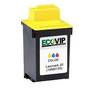 Cartucho Lexmark 20 (15m0120) Compatível Novo - Ecovip