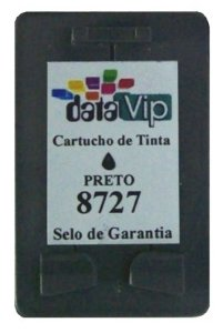 Cartucho Para Impressora Hp Deskjet - Hp 27 (c8727) Remanufaturado - Datavip