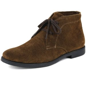 bota chelsea boots em couro camurca de amarrar francalce escrete