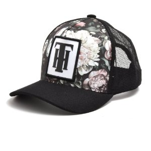 Bone Use Thuco Th Preto Com Floral