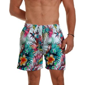 Short Praia Use Thuco Floral