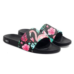 Chinelo Slide Use Thuco Flamingo Floral