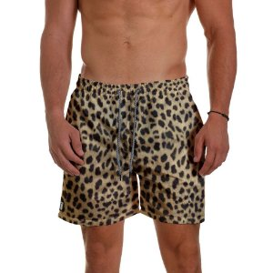 Short de Praia Masculino Estampado Animal Use Thuco