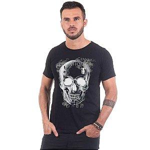 Camiseta Masculina Estampada Caveira Rx Use Thuco