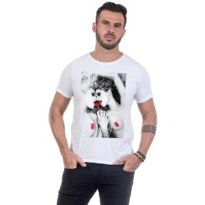 Camiseta Masculina Estampada Girls Use Thuco