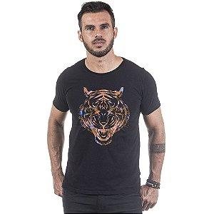 Camiseta Masculina Estampada Art Tigre Use Thuco