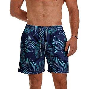 Short Praia Use Thuco Floral Azul