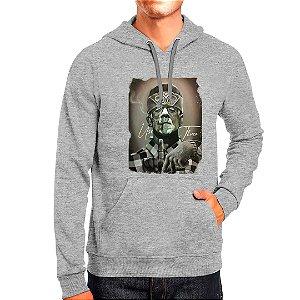 Moletom Masculino Capuz Bolso Canguro Estampado Frankenstein Use Thuco