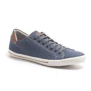 Sapatenis Masculino Casual Azul Jeans