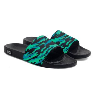 Chinelo Slide Use Thuco Camuflado Verde