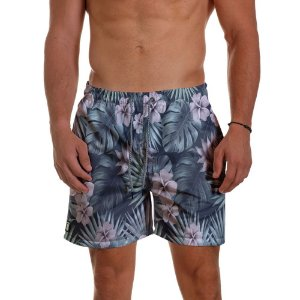 Short Praia Use Thuco Tropical Flowers