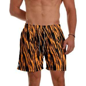Short Praia Use Thuco Animal Print Tigre