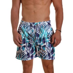 Short Praia Use Thuco Floral Art Cores