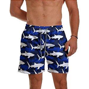 Short Praia Use Thuco Sharks
